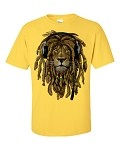RASTA LION with HEADPHONES [YELLOW SHIRT]